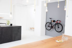 D-Rack from PARAX ® | Horizontal Bike Wall Mount | Bike Wall Rack